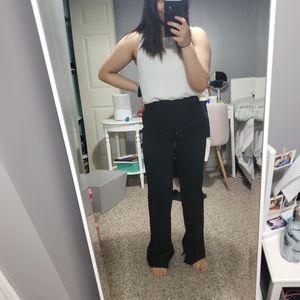 GAP Petite High Rise Slim Boot Pants with Slit
